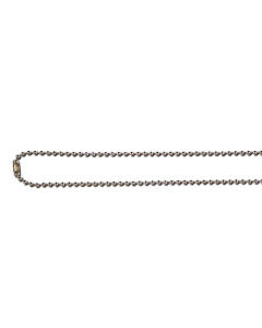 AC208 - Metal chain necklace - Nickel free - 75cm long