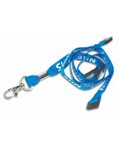AC222-NHS-3B - 15mm NHS lanyards - x3 Breakaways - Metal Trigger Clip