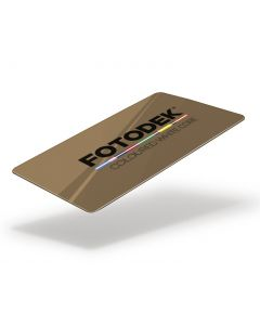 DG76-A - FOTODEK Coloured White-Core Card-Crown Gold Metallic