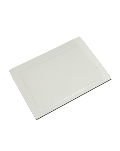 EX600-P - Self adhesive backed card holder - portrait