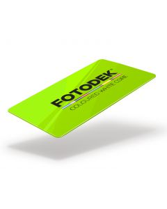GR76-FL-A - FOTODEK Coloured White-Core Card-Jolt Green Fluorescent