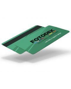 GR76-H27-A-SC - FOTODEK Solid Coloured-Core Card With Magnetic Stripe - Emerald