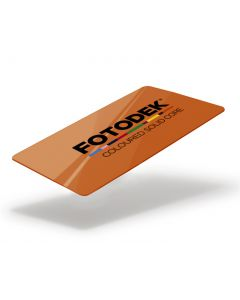 OR76-A-SC - FOTODEK Solid Coloured-Core Card - Island Orange