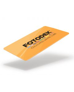 OR76-FL-A - FOTODEK Coloured White-Core Card-Vivid Orange Fluorescent