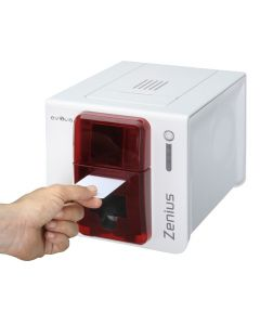 PR-E-210 - Evolis Zenius Single-Sided ID Card Printer ZN1U0000RS