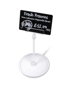PTH105 - Free standing price tag holder with card clip   PTH105