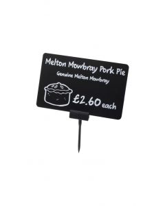 PTH145 - Price Tag Holder with pointed end – Black