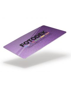 PU76-GL-A - FOTODEK Coloured White-Core Card-Glitter Purple