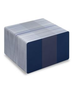 PVC1-DB - PVC1 Coloured White Core Cards - Various Colours Available-Dark Blue