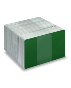 PVC1-FG - PVC1 Coloured White Core Cards - Various Colours Available-Dark Green