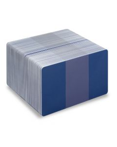 PVC1-RB - PVC1 Coloured White Core Cards - Various Colours Available-Mid Blue