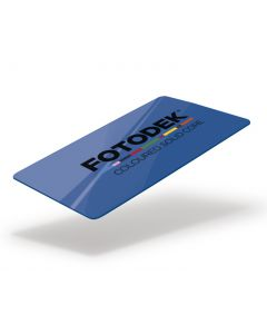 RB76-A-SC - FOTODEK Solid Coloured-Core Card - Pacific Blue