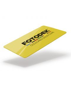 YL76-A-SC - FOTODEK Solid Coloured-Core Card - Canary Yellow